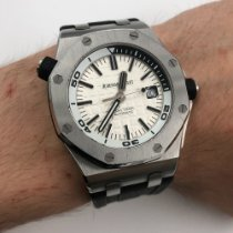 Audemars Piguet Royal Oak Offshore Diver Steel 42mm Silver No numerals United States of America, New York, NYC