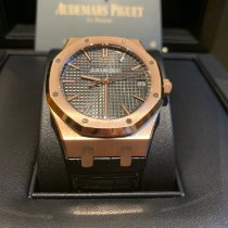 Audemars Piguet 15500OR.OO.D002CR.01 Rose gold 2019 Royal Oak Selfwinding 41mm new United Kingdom