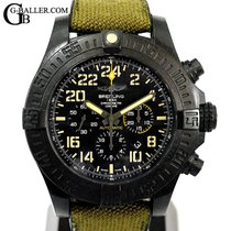 Breitling Avenger Hurricane pre-owned 50mm Black Chronograph Date Rubber