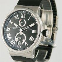 Ulysse Nardin Marine Chronometer Manufacture Сталь 43mm Черный