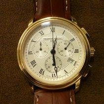 Frederique Constant Classics Chronograph Staal 40mm Zilver Romeins Nederland, Sluis