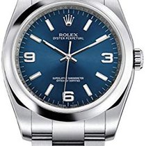 Rolex Oyster Perpetual 36 Acero 36mm Azul Árabes