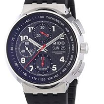 Mido All Dial neu Automatik Chronograph Uhr mit Original-Box und Original-Papieren All Dial Carbon Fibre M8360.4.D8.92