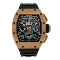 Richard Mille Rose gold 49.94mm Automatic RM011 new