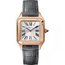 Cartier Santos Dumont new Quartz Watch with original box and original papers WGSA0022