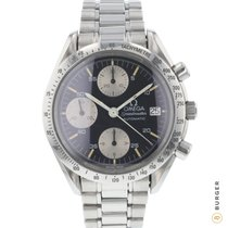 Omega Speedmaster Reduced Acier 39mm Noir