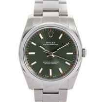 Rolex Oyster Perpetual 34 Staal 34mm Groen