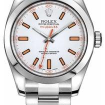 Rolex Milgauss Steel 40mm White No numerals United States of America, New Jersey, Woodbridge