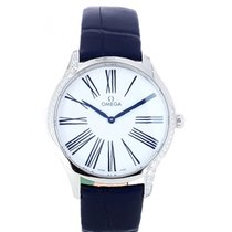 Omega De Ville Trésor Steel 39mm White