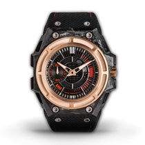 Linde Werdelin Carbon Automatic Black No numerals 44mm new SpidoLite