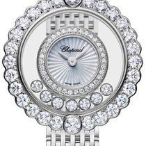 Chopard 204180-1201 Bílé zlato 2021 Happy Diamonds 26mm nové