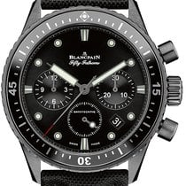Blancpain Fifty Fathoms Bathyscaphe Ceramic 43mm Black United States of America, New York, Airmont