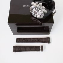 Zenith Brown leather strap (for Defy Classic etc)