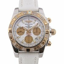 Breitling Chronomat 41 Automatic Chronograph Steel Gold