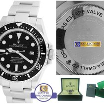 Rolex Sea-Dweller 4000 116600 Stainless 40mm Black Date Dive...