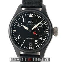 IWC Pilot Collection Big Pilot Top Gun Black Ceramic 48mm...