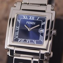 Fendi Swiss Made Men's Luxury Stainless Steel Quartz Dress...