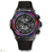 Hublot Big Bang 45mm Unico All Black Sapphire Galaxy Men's Watch