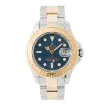 Rolex Yacht-master 69623 Papers Womens Automatic Watch Blue...
