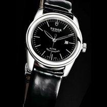 Tudor Glamour Date Steel 31mm Black