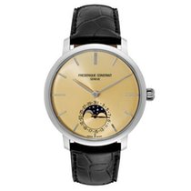 Frederique Constant Slimline Moonphase Men's Automatic Watch...