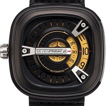 Sevenfriday 47.6mm Automatic new M2-1 Black