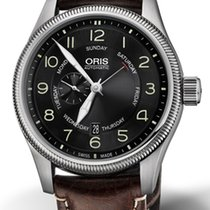 Oris Big Crown Small Second Pointer Day Steel 44mm Black Arabic numerals