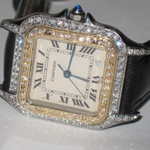 Cartier Panthère Gold/Steel 26mm Silver Roman numerals United States of America, New York, NEW YORK CITY