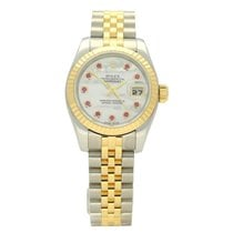Rolex Lady-Datejust Gold/Steel 26mm Mother of pearl No numerals