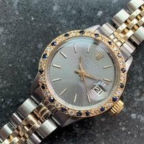 Rolex Oyster Perpetual Lady Date Gold/Steel 24mm Grey United States of America, California, Beverly Hills