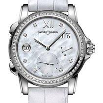 Ulysse Nardin Женские часы Dual Time 38mm Автоподзавод новые Часы с оригинальными документами и коробкой