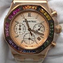 Audemars Piguet Růžové zlato Automatika nové Royal Oak Offshore Chronograph