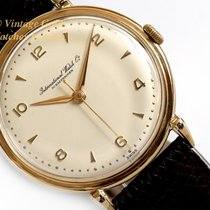 IWC Yellow gold 37mm Manual winding pre-owned United Kingdom, London