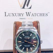 Rolex Milgauss Acier 40mm Noir Sans chiffres France, Paris
