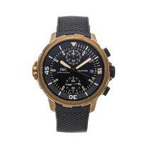 IWC Aquatimer Chronograph Bronze 44mm Preto Sem números