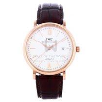 IWC Portofino Automatic Ouro rosa 40mm Prata