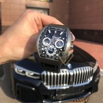 Franck Muller новые Автоподзавод 44mm Титан Сапфировое стекло