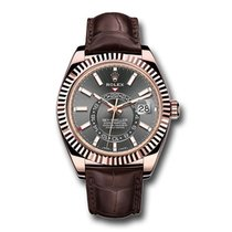 Rolex Sky-Dweller Rose gold 42mm Black Arabic numerals United States of America, New York, New York