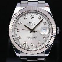 Rolex Datejust II 116334 Velmi dobré Zlato/Ocel 41mm Automatika