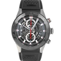 TAG Heuer Carrera Calibre HEUER 01 Steel 43mm Black United States of America, Maryland, Baltimore, MD