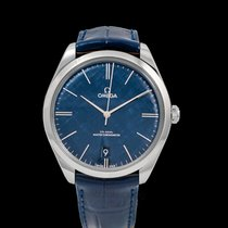 Omega De Ville Trésor Steel 40mm Blue United States of America, California, Burlingame