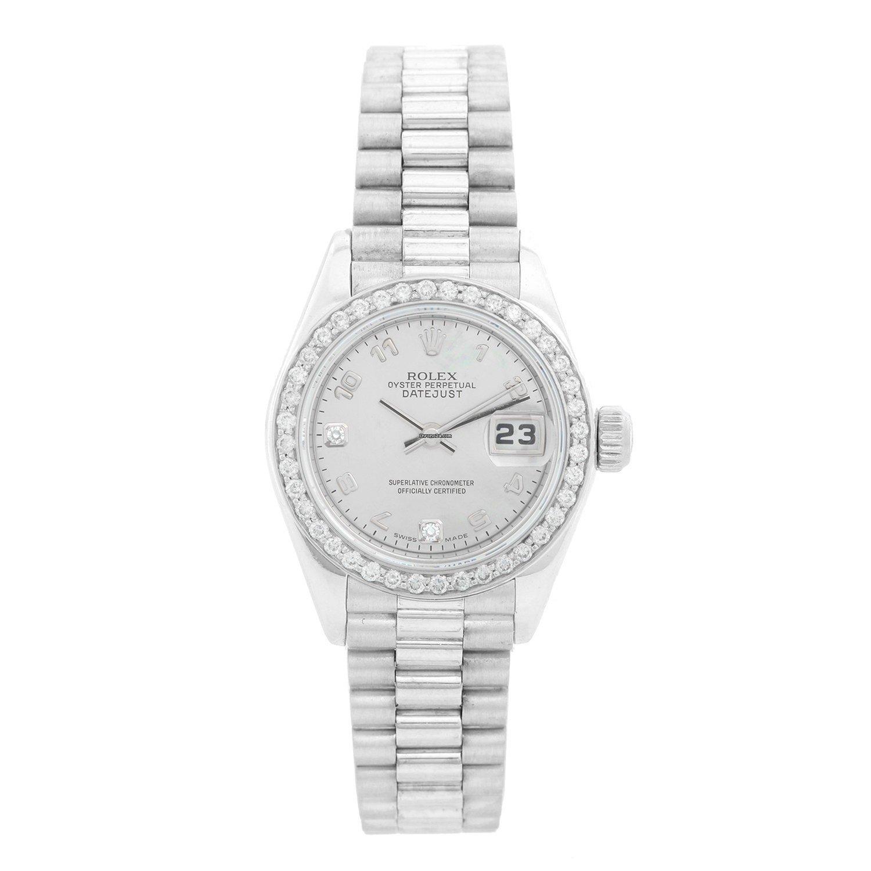 Rolex Ladies Datejust 69139 Mother of Pearl President Bracelet