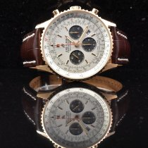 Breitling Navitimer 01 (46 MM) Rose gold 46mm Silver