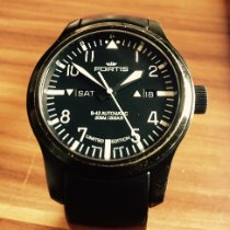 Fortis Steel 42mm Automatic 655.18.158 pre-owned