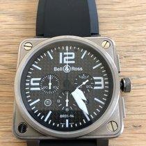 Bell & Ross BR 01-94 Chronographe Titanium 46mm Black