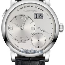 A. Lange & Söhne Lange 1 White gold 38.5mm Silver United States of America, New York, Airmont