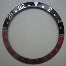 Rolex GMT Master  Bezel Insert Red & Black & Silver Numbers