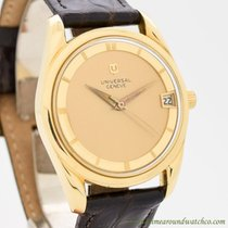 Universal Genève Polerouter Yellow gold 34mm Champagne United States of America, California, Beverly Hills