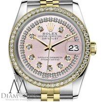 Rolex Lady-Datejust Gold/Stahl 26mm Pink