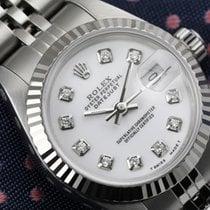 Rolex Lady-Datejust Steel 26mm White United States of America, New York, New York